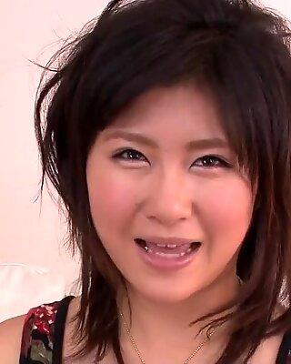 Teen Kyouka Mizusawa  ?s busty asian blowjob leads to sex