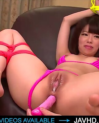 Japanese girls love to embed themselves