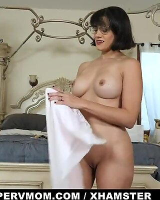 PervMom - Busty Milf Sucks Off Stepson