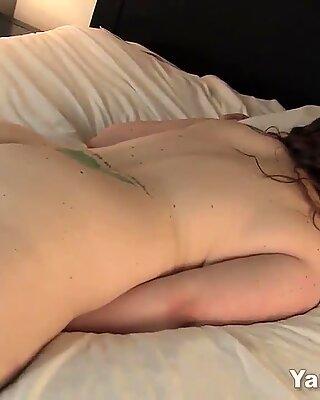 BBW Jessica Masturbating Her Twat