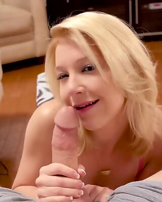 Pov milf sucking big cock