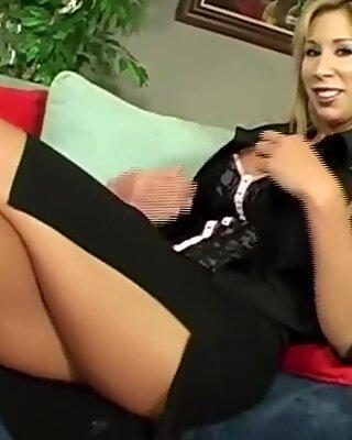 Hot Blonde Milf Is Having Rough Sex