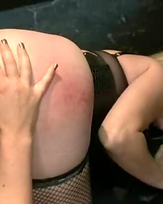 Angela Attison is ass pumped by Krissy Lynn