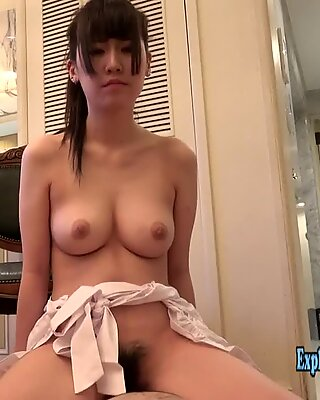Jav Amateur Babe Seto Cooks Dinner Then Fucked Uncensored Wearing Pinafore On the Floor