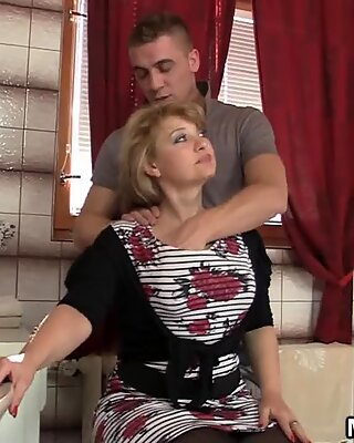 Girlfriends hot mom caught fucking with her hubby